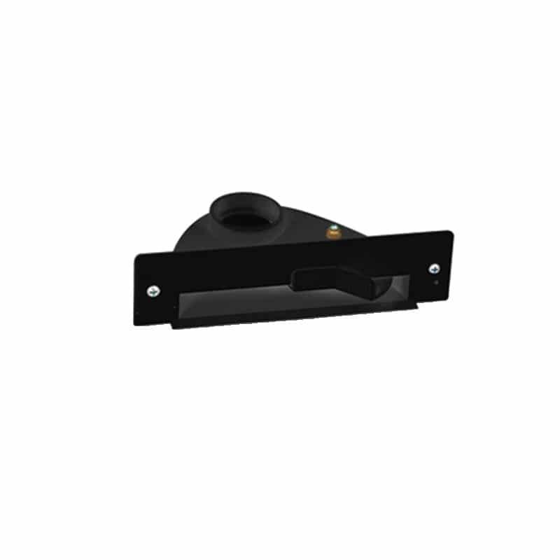 Saugsteckdose VAC PAN ACTIVE für Möbel in schwarz