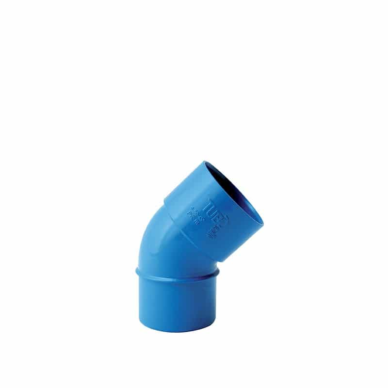 45° PVC-Bogen