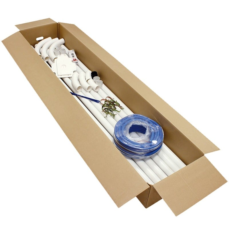 Vorrüstungssatz für 1 Saugsteckdose PRATICO 2 für Gipskarton
