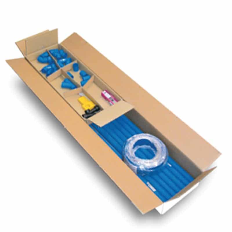 Vorrüstungssatz für die Ergänzung von 2 Saugsteckdosenpunkten NEW AIR Ø 50