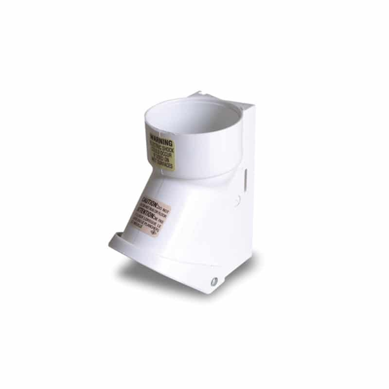 Saugsteckdose mit Mikroschalter