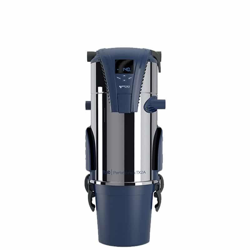 Zentralgerät PERFETTO INOX TX2A zum Zentralstaubsauger-System